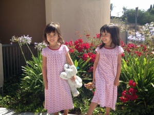 Fifth birthday AND pajama day at school: win-win